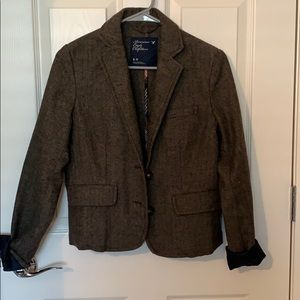 American Eagle Tweed Blazer